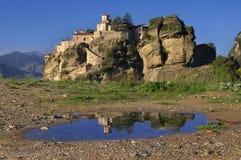 Meteora, Greece - monastery of St. Barlaam Royalty Free Stock Photography