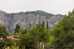 Meteora. Greece Stock Image