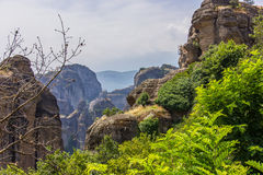 Meteora. Greece Stock Photo