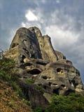Meteora, Greece. One of the Meteora rocks, Greece Royalty Free Stock Photo