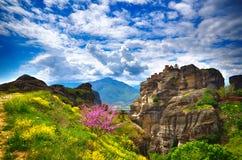 Meteora, Greek destination Royalty Free Stock Image