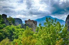 Meteora, Greek destination Stock Photos