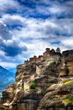 Meteora, Greek destination Royalty Free Stock Images