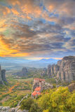 Meteora Grekland Royaltyfri Bild