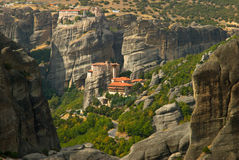 Meteora Grekland Arkivbilder