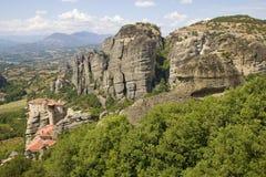 Meteora - Griechenland Stockfotos