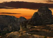 Meteora Griechenland Stockbild