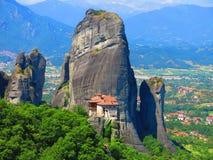 Meteora, Griechenland stockbilder