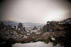 Meteora Griechenland stockfoto