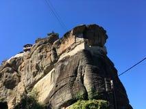 Meteora, Griekenland Royalty-vrije Stock Foto's