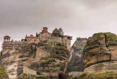 Meteora Griekenland Stock Afbeeldingen