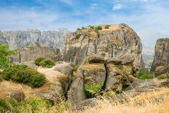 Meteora. Griekenland Royalty-vrije Stock Afbeelding