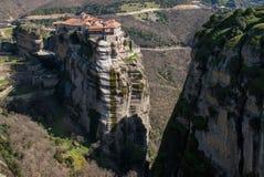 Meteora in Griekenland stock foto's