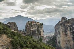 Meteora in Griekenland Royalty-vrije Stock Afbeelding