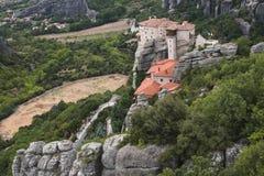Meteora in Griekenland Royalty-vrije Stock Afbeeldingen