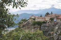 Meteora in Griekenland Royalty-vrije Stock Foto's
