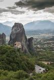 Meteora in Griekenland Royalty-vrije Stock Foto