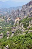 Meteora high relief Royalty Free Stock Images