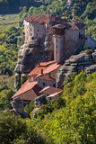 Meteora, Holy Monastery of Rousanou St. Barbara, Greece Royalty Free Stock Photography