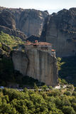 Meteora, Holy Monastery of Rousanou St. Barbara Royalty Free Stock Photography