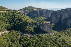 Meteora, Holy Monastery of Rousanou St. Barbara Royalty Free Stock Image