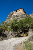 Meteora, Holy Monastery of St. Nicholas Anapausas Stock Photography