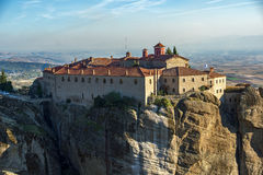 Meteora, Holy Monastery of St. Stephen Royalty Free Stock Photography