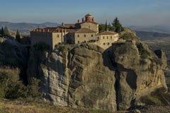 Meteora, Holy Monastery of St. Stephen Stock Photo