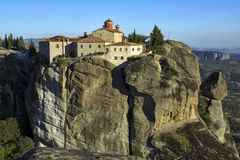 Meteora, Holy Monastery of St. Stephen Stock Images