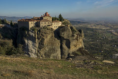 Meteora, Holy Monastery of St. Stephen Royalty Free Stock Image