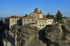 Meteora, Holy Monastery of St. Stephen Royalty Free Stock Photo