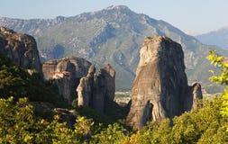 Meteora i Grekland royaltyfri fotografi