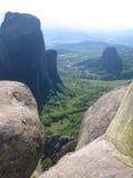 Meteora - immagine di riserva Fotografia Stock