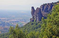 Meteora at Kalambaka Stock Images