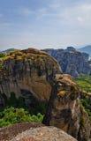 Meteora klippor Arkivbilder