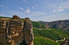 Meteora kloster Royaltyfria Foton