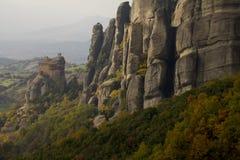 Meteora kloster Fotografering för Bildbyråer