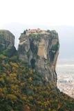 Meteora kloster Arkivfoto