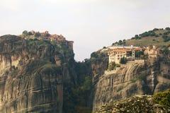 Meteora kloster Royaltyfria Bilder