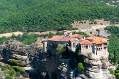 Meteora Kloster Stockfotos