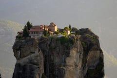 Meteora-Klostermarkstein Griechenland Lizenzfreie Stockfotos
