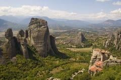 Meteora - la Grèce images libres de droits