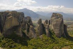 Meteora - la Grèce photographie stock libre de droits