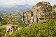 Meteora - la Grèce image stock