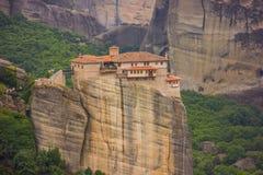 Meteora La Grecia Immagine Stock Libera da Diritti