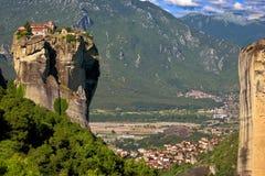Meteora, la trinità santa Fotografie Stock Libere da Diritti