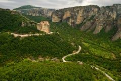 Meteora landcape Stockfoto