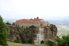 Meteora landscape Royalty Free Stock Photography