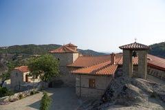 Meteora. Le monastère de la trinité sainte Image libre de droits