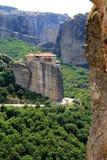 Meteora - monastère grec Photos stock